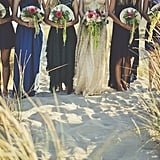 If You and Your Girlfriends Are Aspiring Mermaids, This Beach Bridal Shower Is For You