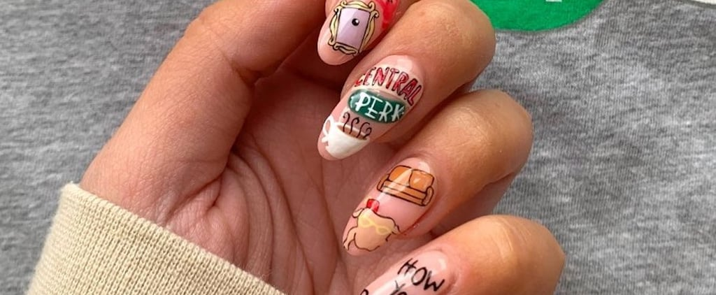 This Friends Nail Art Is Perfect For the Reunion Special