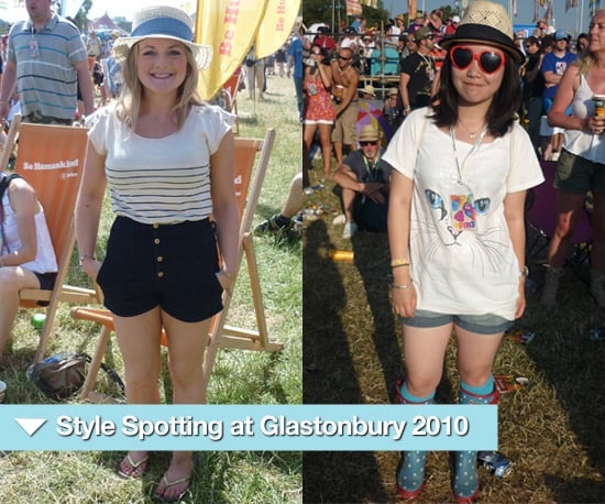 Street Style Spotting at Glastonbury 2010, Must Have Items for July 2010