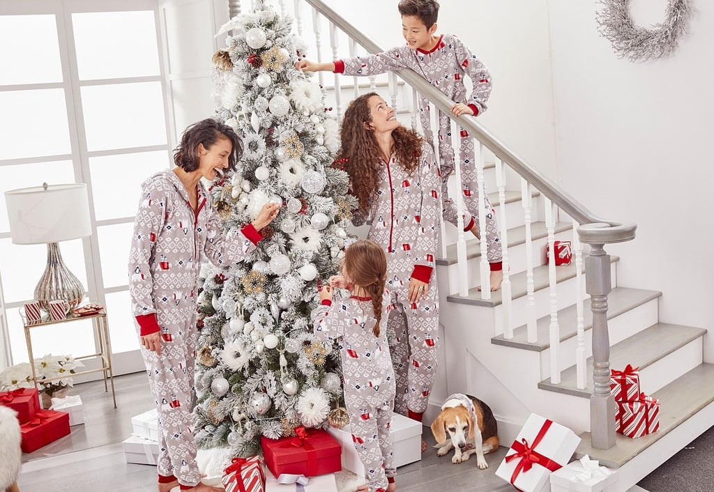 Matching Family One-Piece Polar Bear Pajamas