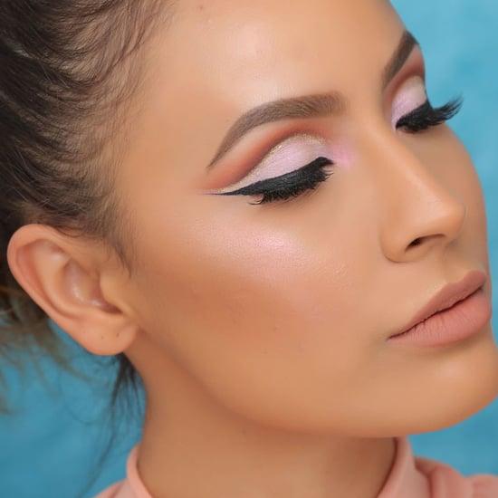 Glitter Crease Eye Makeup Tutorial   Video
