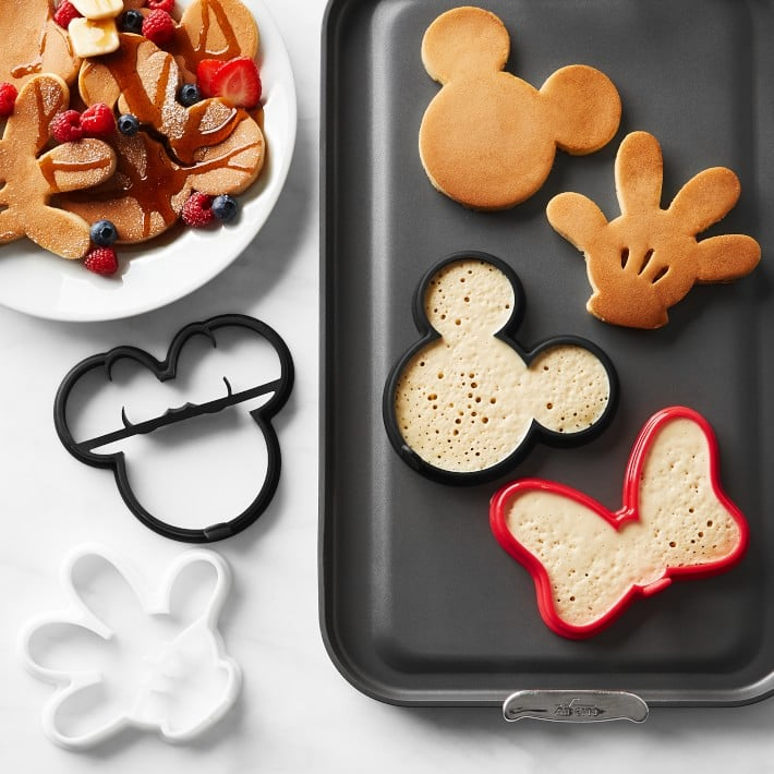 Mickey Mouse Silicone Pancake Molds