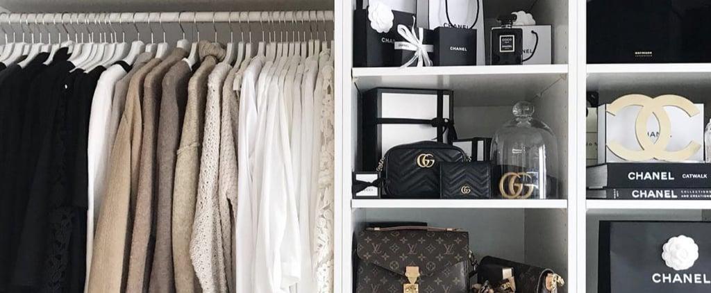 Marie Kondo Closet Organisation