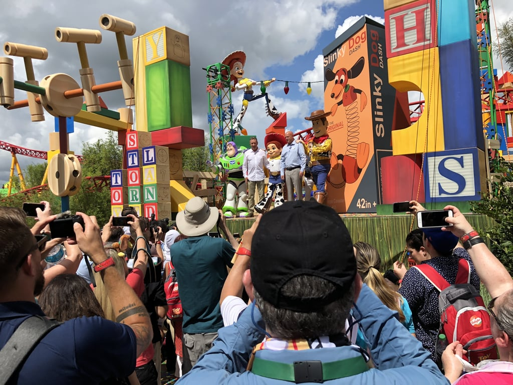 Tim Allen at Toy Story Land Dedication Pictures