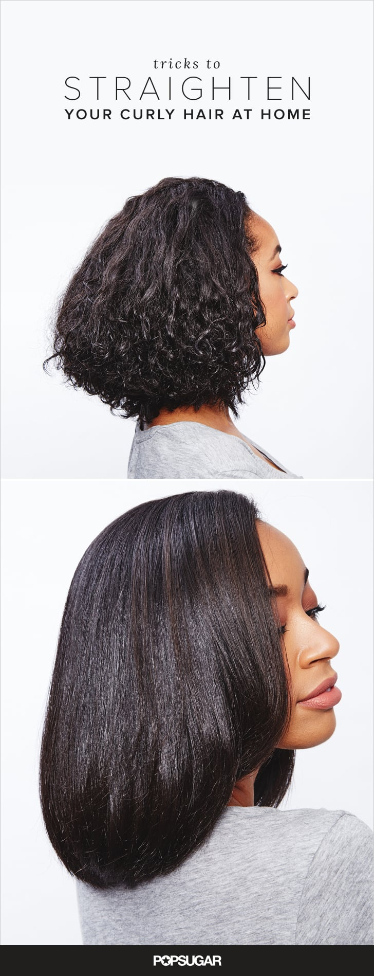 how to get straight hair curly naturally