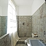 One of 12 bathrooms, this particular space has a spa-style shower.  Source: Everett Fenton Gidley