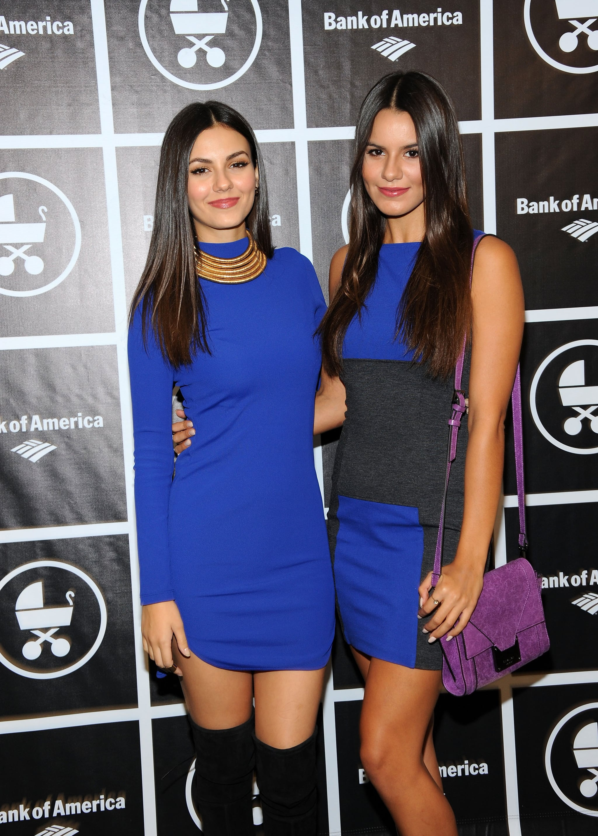 Victoria Justice And Her Sister Wear Matching Outfits In Nyc Popsugar Latina