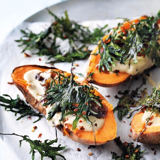 Vegetarian-Stuffed Sweet Potato Fillings and Topping Ideas