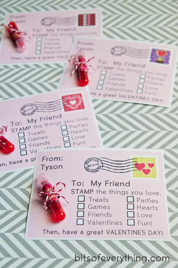 diy noncandy printable valentine's day cards for kids | popsugar moms, Ideas