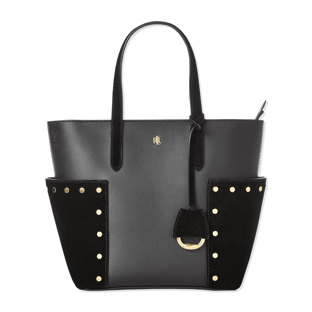 Lauren Ralph Lauren Smoother Leather Carlyle Tote