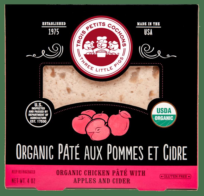 Les Trois Petit Cochons Organic Pâté aux Pommes et Cidre