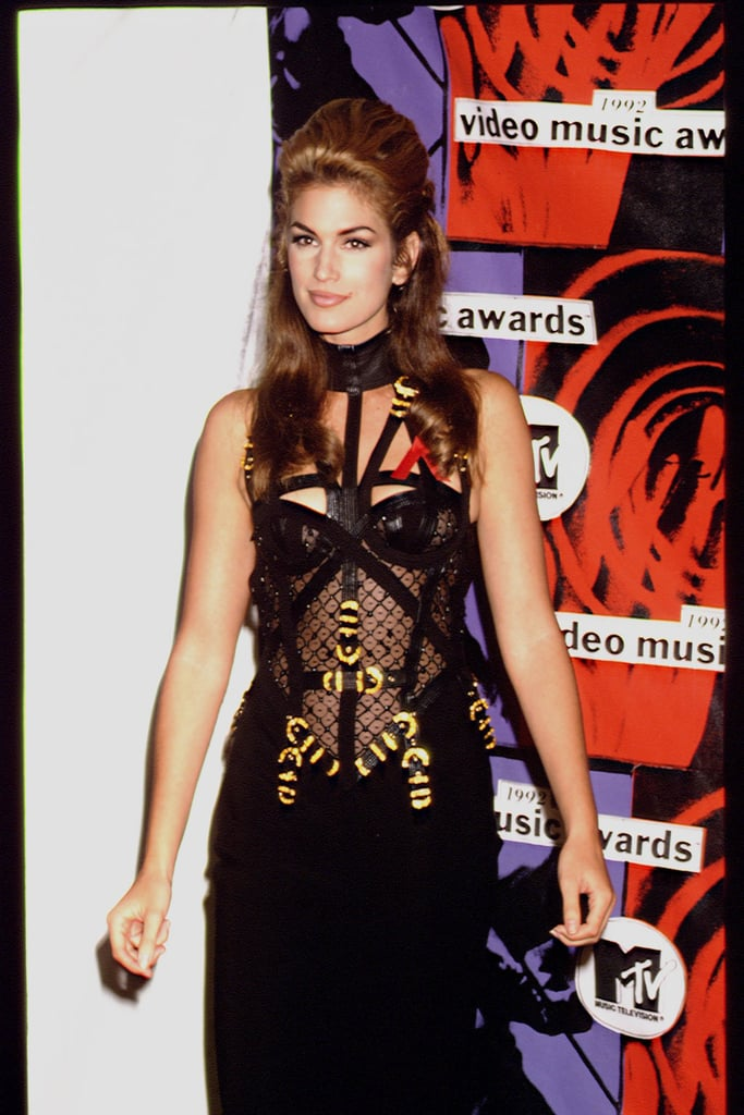 Cindy Crawford's 1992 VMAs Outfit