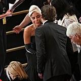 Pictured: Bradley Cooper, Celebrities, Lady Gaga, and Sam Elliott
