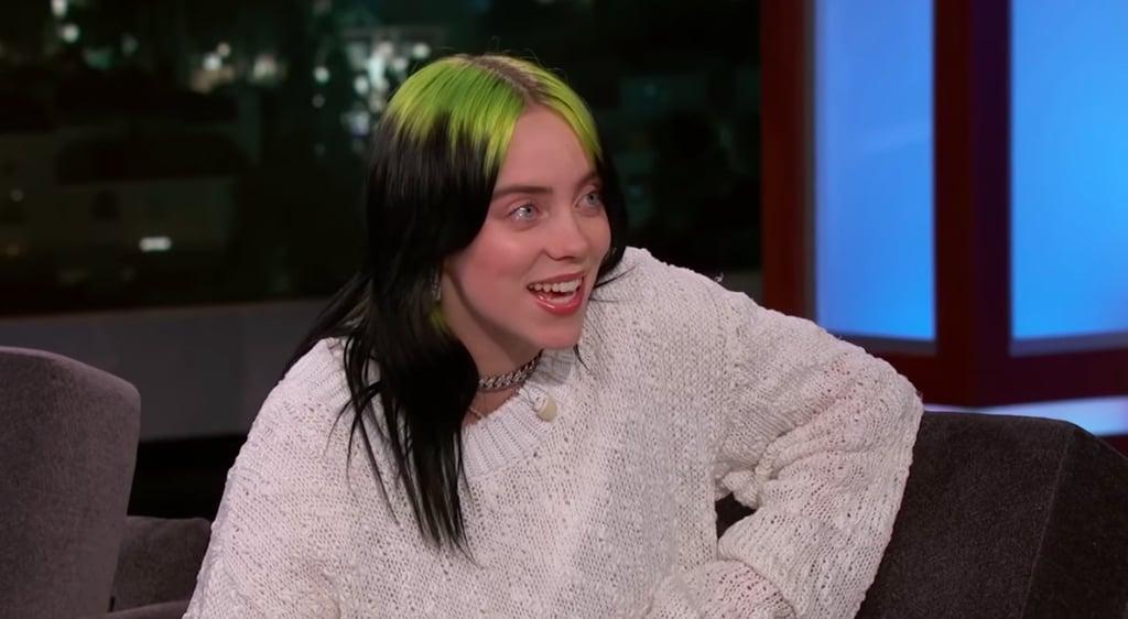 Watch Billie Eilish Talk Grammy Nominations on Kimmel Live
