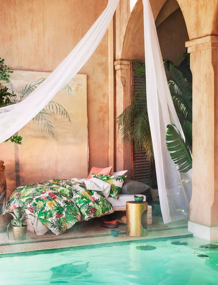 "H&M's New Summer Home Collection Screams ""I'm on Vacation Forever!"""