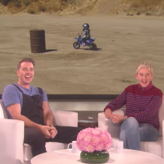 Dax Shepard Shares Video of Daughter on Ellen DeGeneres Show