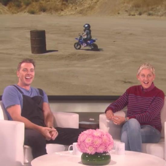 Dax Shepard Shares Video of Daughter on Ellen DeGeneres Show
