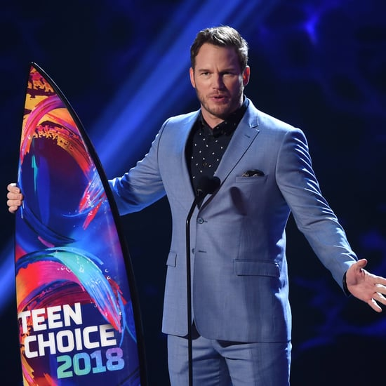 Chris Pratt's Acceptance Speech at Teen Choice Awards 2018