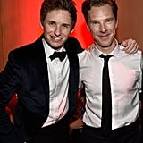 Eddie and Benedict were dressed to the nines for the Palm Springs International Film Festival Awards Gala in January 2015.