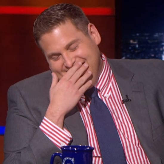 Jonah Hill on The Colbert Report June 2014   Video