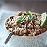 Slow-Cooker Quinoa White Chili With Roasted Poblanos