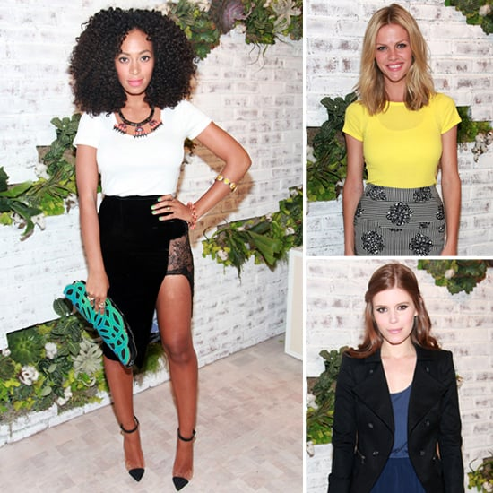 Celebs at Splendid NYC Store Opening