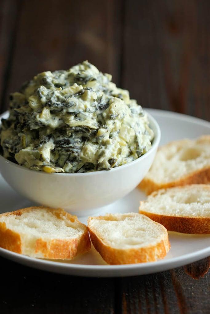 Slow-Cooker Spinach Artichoke Dip