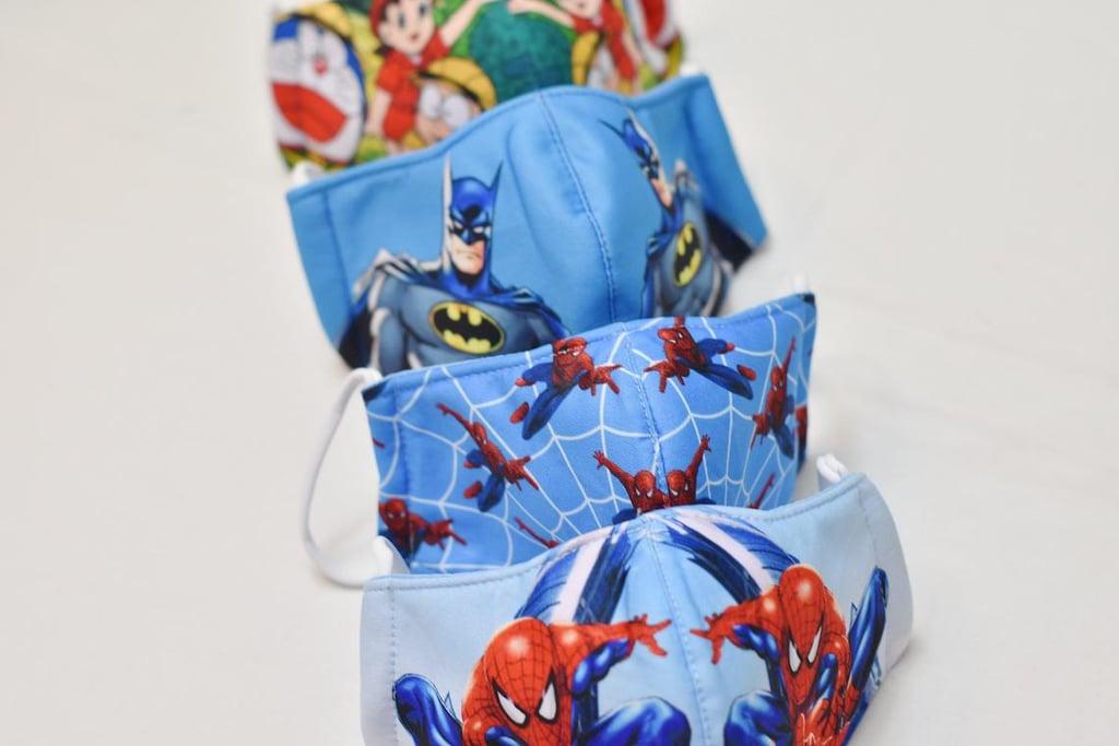 Superhero Cloth Face Masks