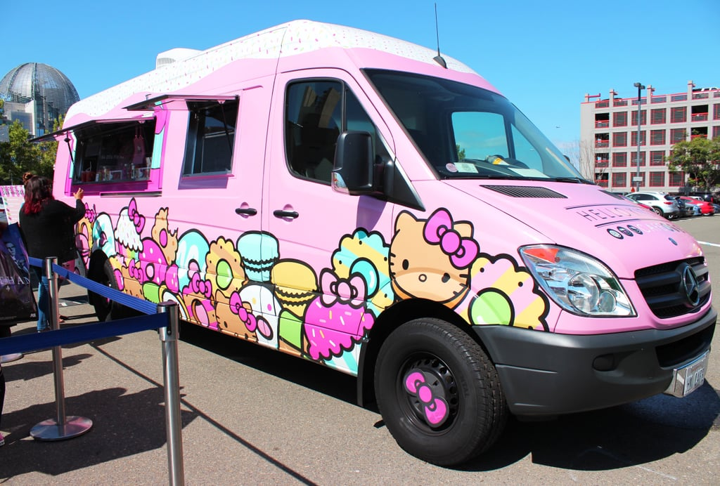 Hello Kitty Food Truck Review