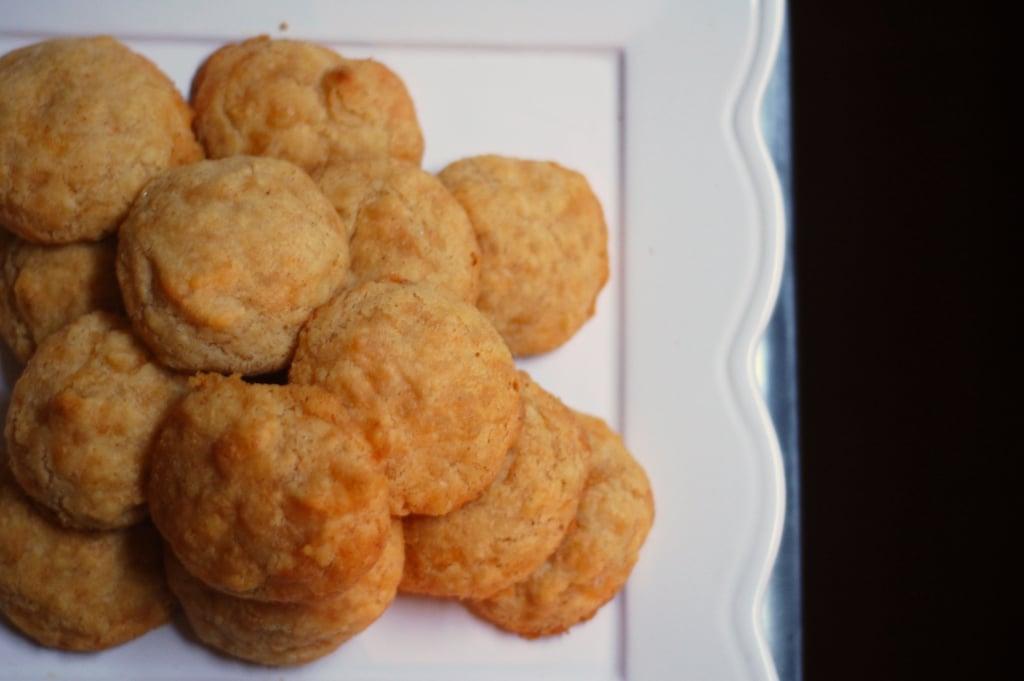 Vegetarian Appetizers: Cheese Diablo Wafers