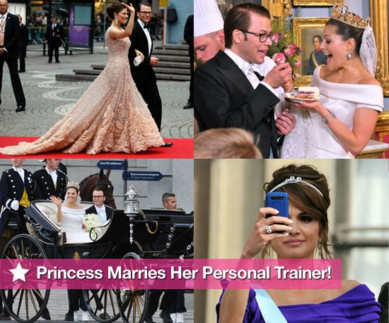 Pictures From The Swedish Royal Wedding: Crown Princess Victoria Marries Her Personal Trainer Daniel Westling!