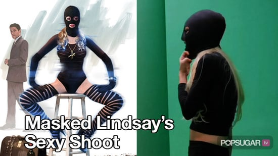 Video of Lindsay Lohan's Masked Shoot