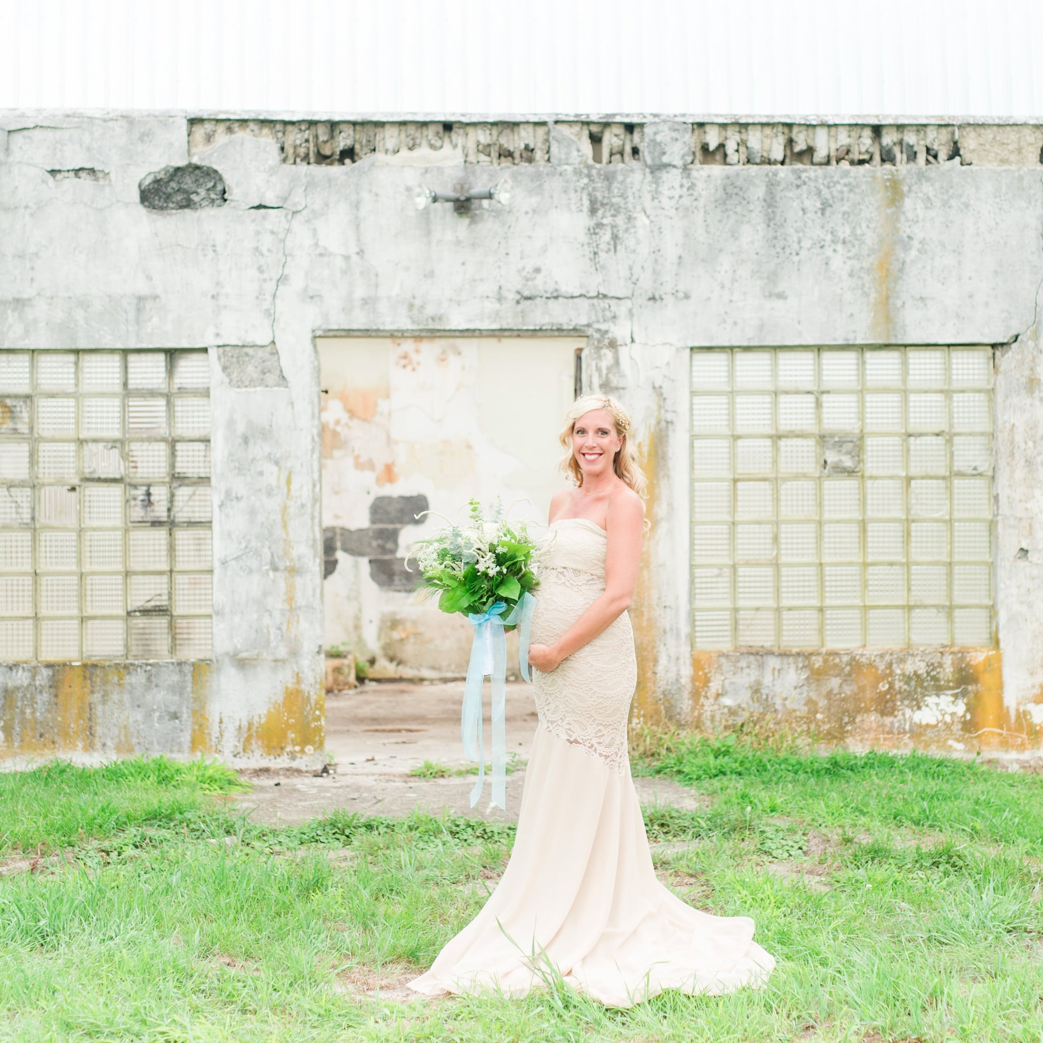 Maternity Wedding Dresses | POPSUGAR Moms