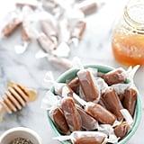 Salted Honey Lavender Caramels