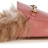 Gucci Princetown Fur Lined Loafer ($995)