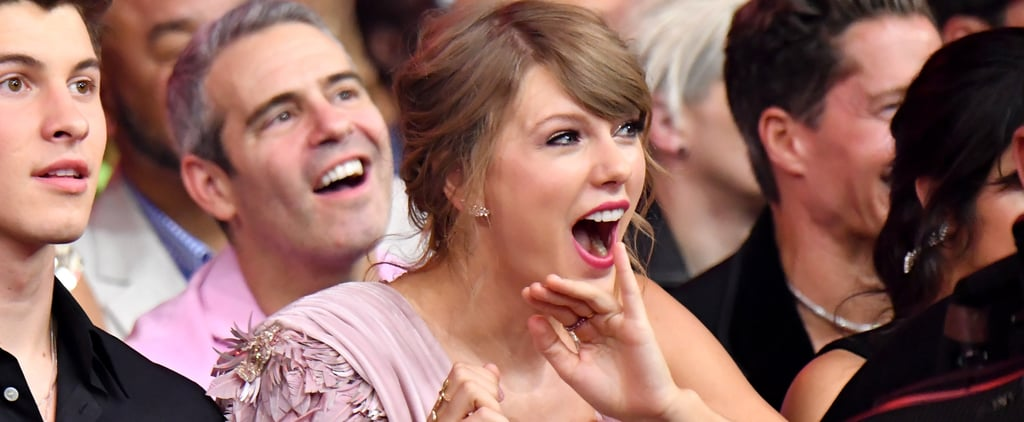 Taylor Swift Singing Along to Her Song at Billboard Awards