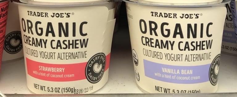 Dairy-Free Trader Joe's Products   2020
