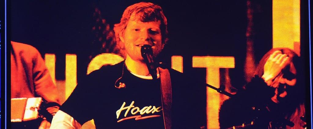Ed Sheeran Performance at 2018 Billboard Music Awards