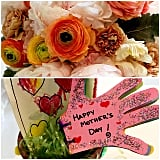Rachel Zoe was showered with flowers and homemade gifts for Mother's Day.
