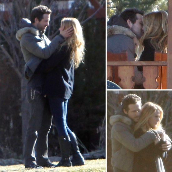 Ryan Reynolds and Blake Lively Kiss and Cuddle During a Bed and Breakfast Getaway