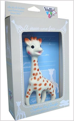 Toy Box: Sophie the Giraffe