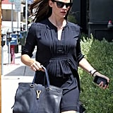 Jennifer Garner headed into the Tavern restaurant.
