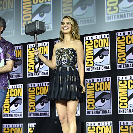 Natalie Portman Blonde Highlights at ComicCon 2019