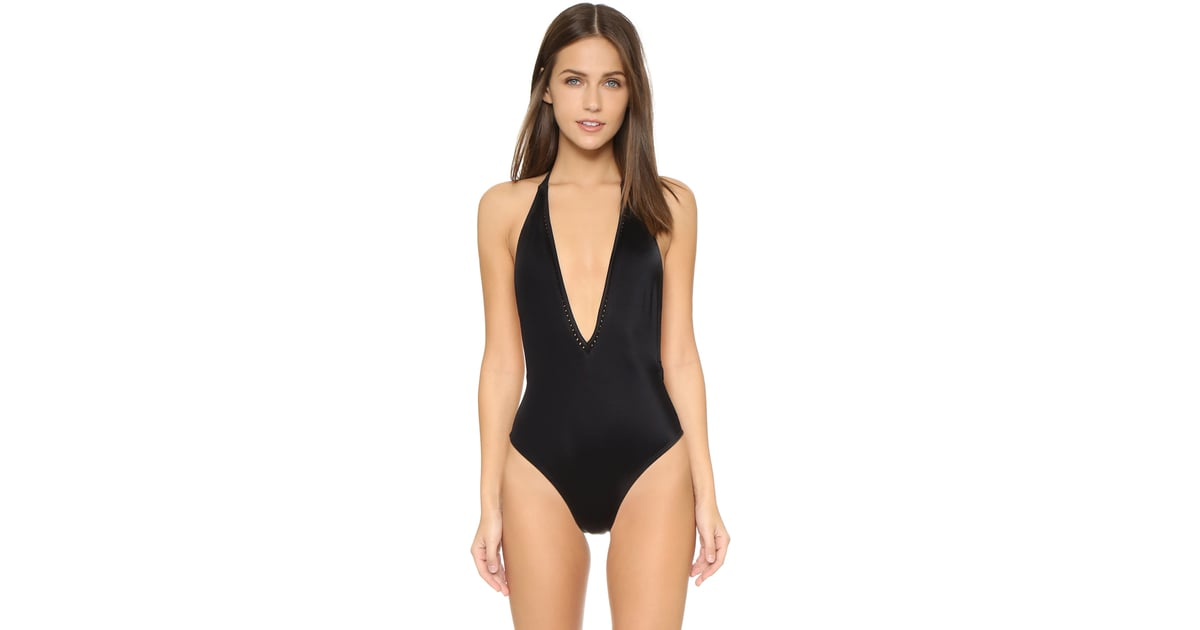 12c0e25052 Peixoto Kai Deep-V One-Piece   28 Sexy One-Piece Swimsuits That Will Turn  Heads at the Pool   POPSUGAR Fashion Photo 28
