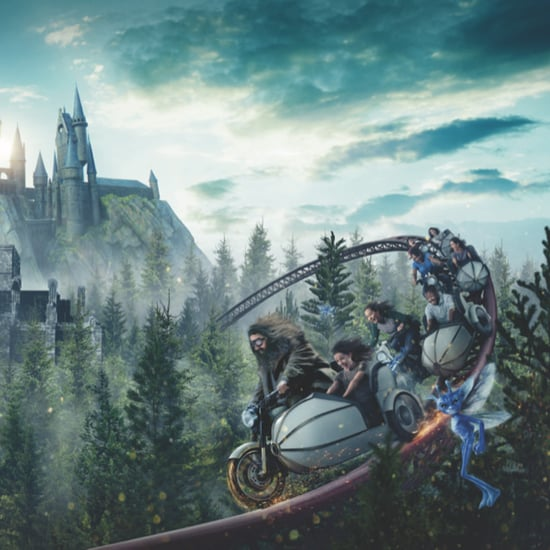 New Hagrid Roller Coaster at Wizarding World of Harry Potter