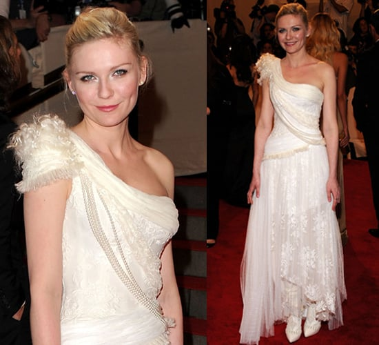 Kirsten Dunst at 2010 Met Costume Institute Gala