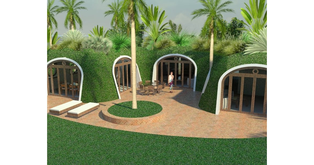 home garden the real life hobbit houses every lord of the rings fan must see popsugar home. Black Bedroom Furniture Sets. Home Design Ideas