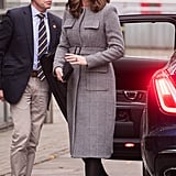 Kate Middleton's L.K. Bennett Checked Coat