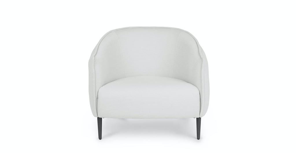 Article Venn Whisper Gray Lounge Chair