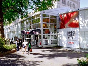 Boris Johnson London Fashion Week Size Zero Funding